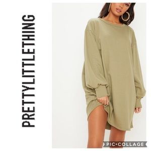 Pretty Little Thing Oversized Dress NWT
